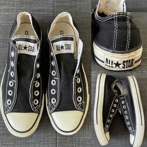 Converse All Star No Lace Low Top Sneakers